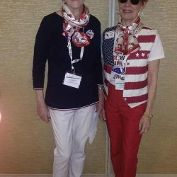 Couple of female team leaders - National Federation of Republican Women